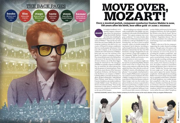 Article Preview: MOVE OVER, MOZART!, MAY 24th 2010 2010 | Maclean's