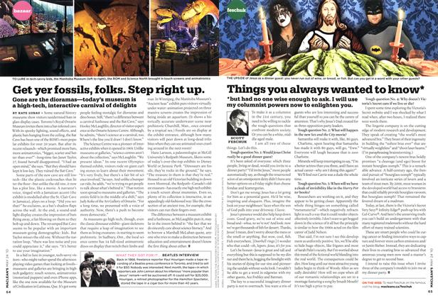 Article Preview: Get yer fossils, folks. Step right up., MAY 24th 2010 | Maclean's