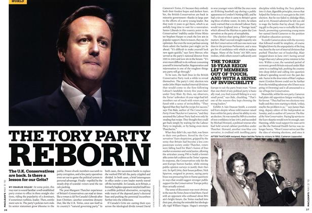 Article Preview: THE TORY PARTY REBORN, MAY 31st 2010 | Maclean's