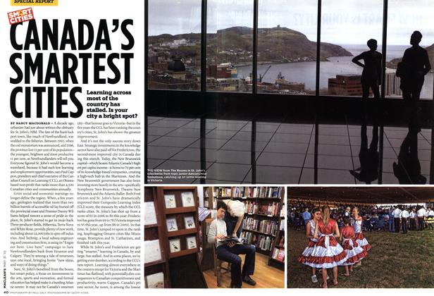 Article Preview: CANADA'S SMARTEST CITIES, MAY 31st 2010 | Maclean's