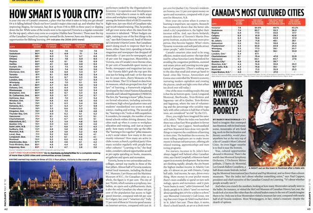 Article Preview: WHY DOES MONTREAL RANK SO POORLY?, MAY 31st 2010 2010 | Maclean's