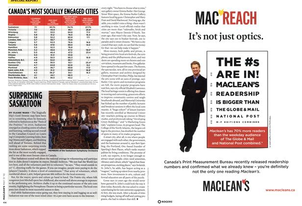 Article Preview: SURPRISING SASKATOON, MAY 31st 2010 | Maclean's