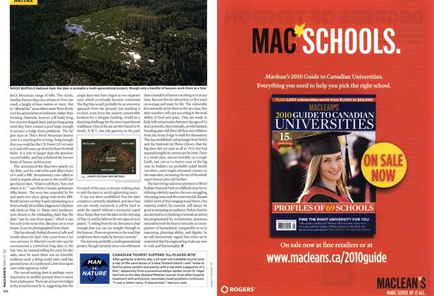 Article Preview: MAN vs. NATURE, MAY 31st 2010 | Maclean's
