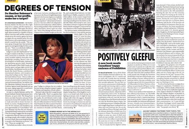 Article Preview: DEGREES OF TENSION, MAY 31st 2010 2010 | Maclean's