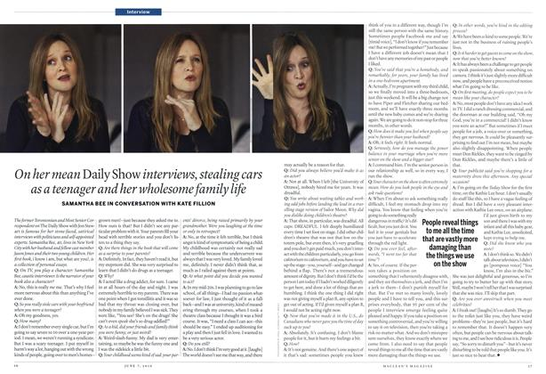 Article Preview: Interview, June 7th 2010 | Maclean's