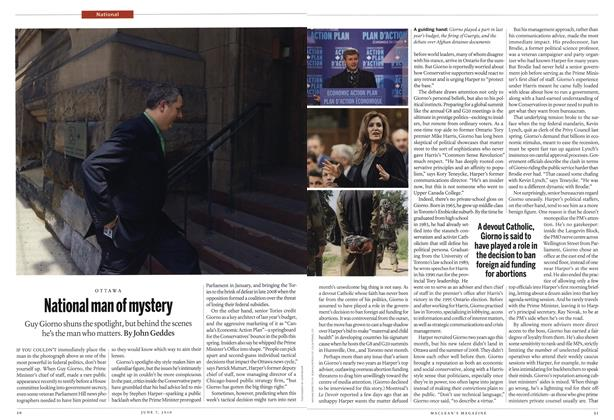 Article Preview: National man of mystery, June 7th 2010 | Maclean's