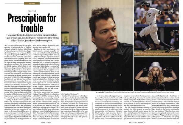 Article Preview: Prescription for trouble, June 7th 2010 | Maclean's