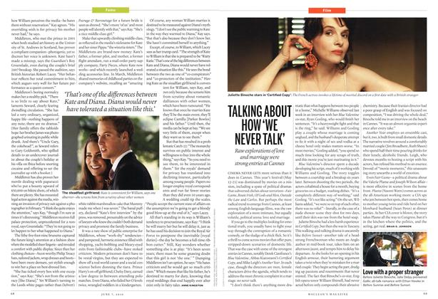 Article Preview: TALKING ABOUT HOW 'WE NEVER TALK', June 7th 2010 | Maclean's