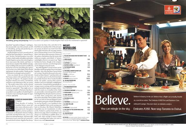 Article Preview: MACLEAN'S BESTSELLERS, June 7th 2010 | Maclean's