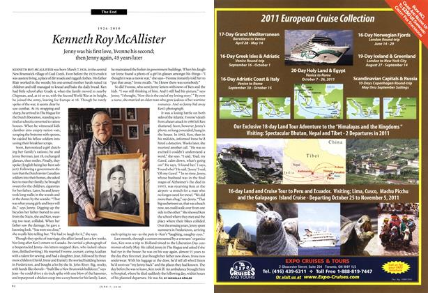 Article Preview: 1926-2010 Kenneth Roy McAllister, June 7th 2010 | Maclean's