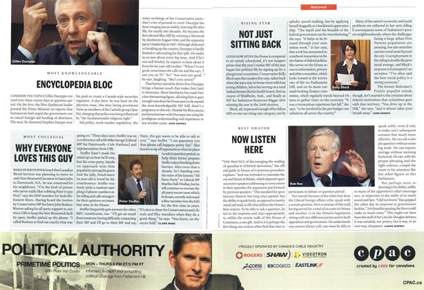 Article Preview: NOW LISTEN HERE, June 14th 2010 | Maclean's