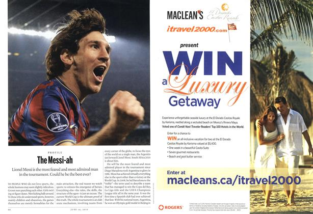 Article Preview: The Messi-ah, June 14th 2010 | Maclean's