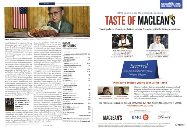 Article Preview: Advertisement, June 14th 2010 | Maclean's