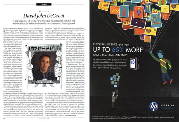 Article Preview: 1970-2010 David John DeGroot, June 14th 2010 | Maclean's
