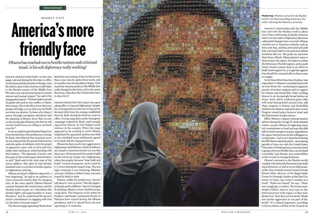 Article Preview: America's more friendly face, June 2010 | Maclean's