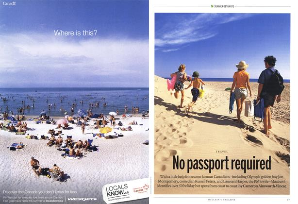 Article Preview: No passport required, June 21st 2010 | Maclean's