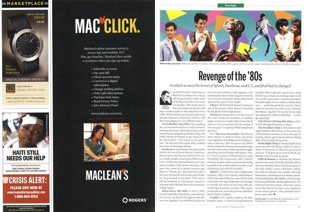 Article Preview: Revenge of the '80s, June 21st 2010 | Maclean's