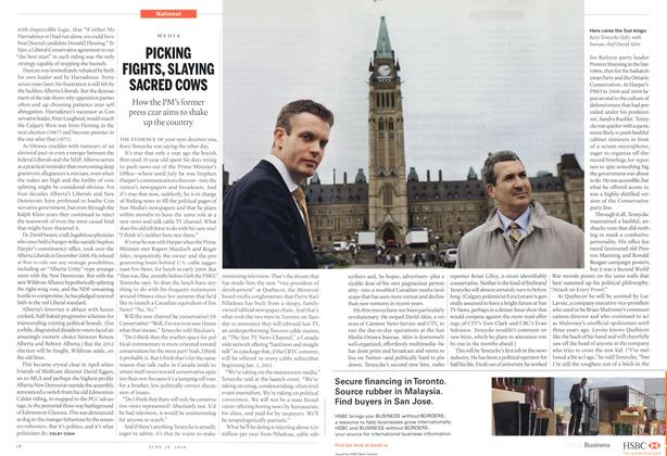 Article Preview: PICKING FIGHTS, SLAYING SACRED COWS, June 28th 2010 | Maclean's