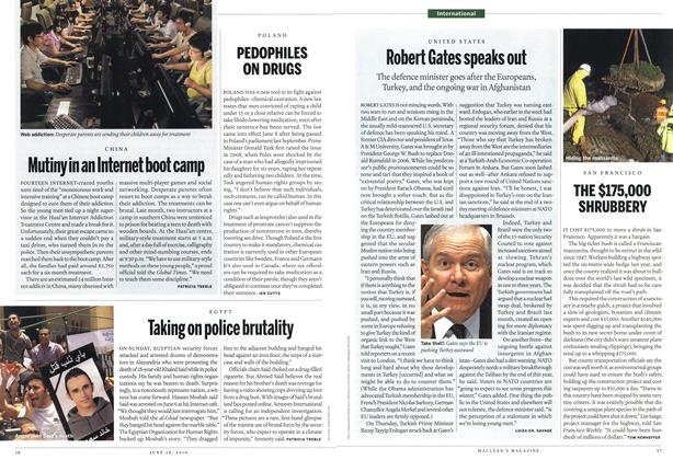Article Preview: Robert Gates speaks out, June 2010 | Maclean's