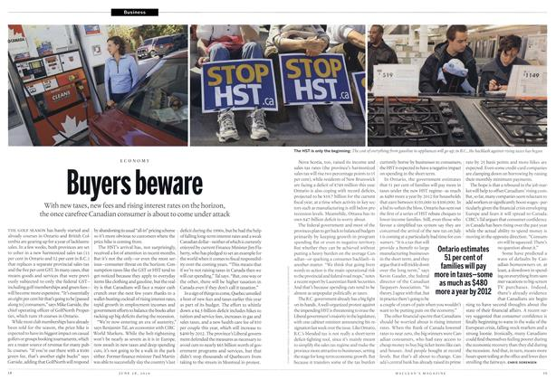 Article Preview: Buyers beware, June 28th 2010 | Maclean's