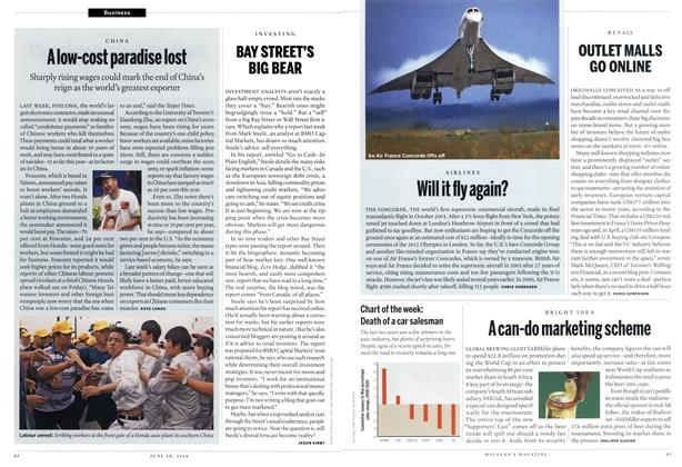 Article Preview: Will it fly again?, June 28th 2010 | Maclean's