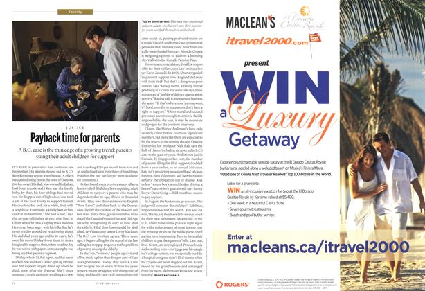 Article Preview: Payback time for parents, June 28th 2010 | Maclean's