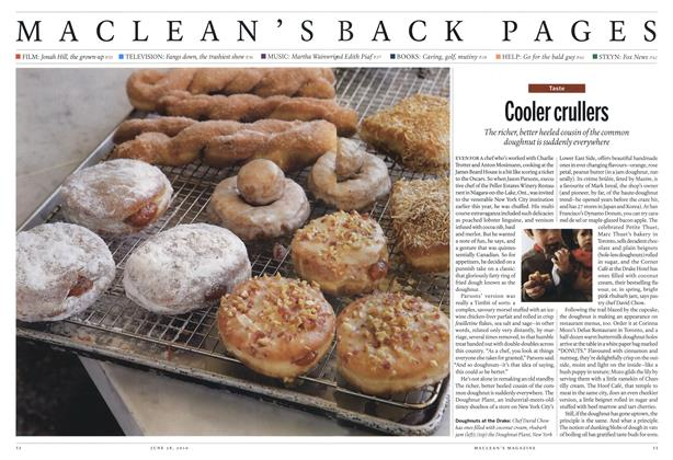 Article Preview: Cooler crullers, June 28th 2010 | Maclean's