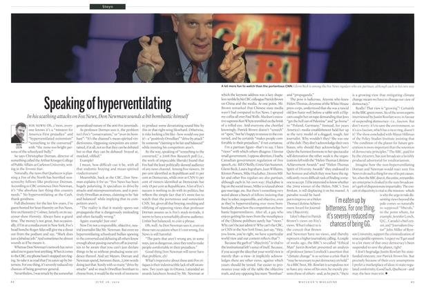Article Preview: Speaking of hyperventilating, June 28th 2010 | Maclean's