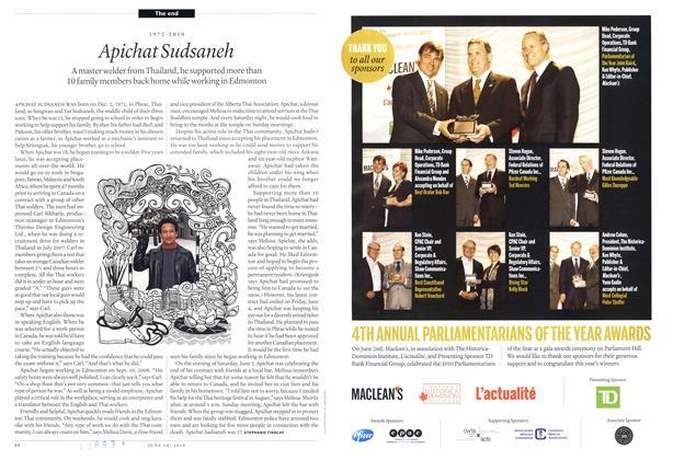Article Preview: Apichat Sudsaneh, June 2010   Maclean's