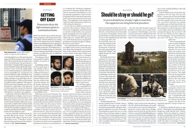Article Preview: GETTING OFF EASY, July 5th 2010 | Maclean's