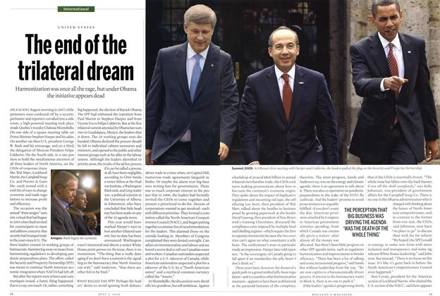 Article Preview: The end of the trilateral dream, July 2010 | Maclean's