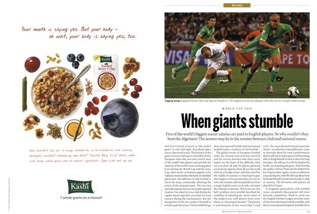 Article Preview: When giants stumble, July 5th 2010 | Maclean's