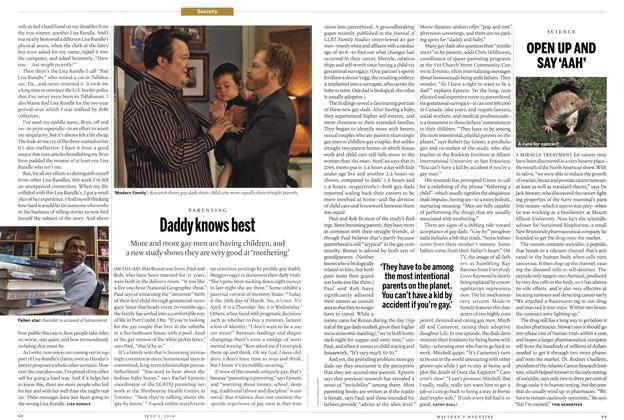 Article Preview: Daddy knows best, July 5th 2010 | Maclean's