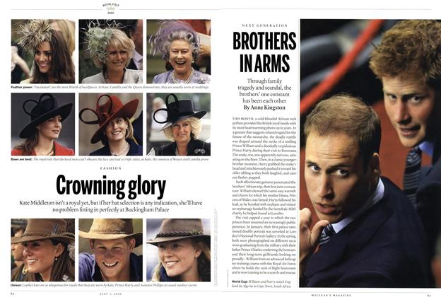 Article Preview: BROTHERS IN ARMS, July 2010 | Maclean's