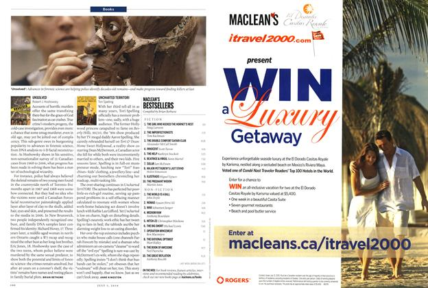 Article Preview: MACLEAN'S BESTSELLERS, July 5th 2010 | Maclean's