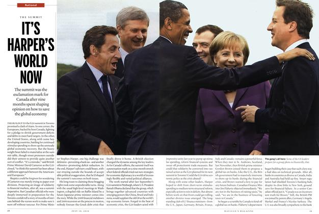 Article Preview: IT'S HARPER'S WORLD NOW, July 19th 2010 | Maclean's