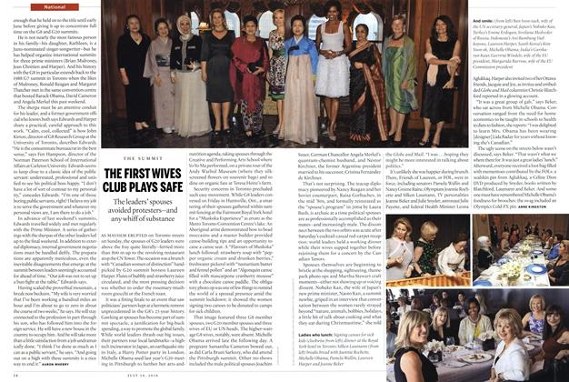 Article Preview: THE FIRST WIVES CLUB PLAYS SAFE, July 19th 2010 | Maclean's