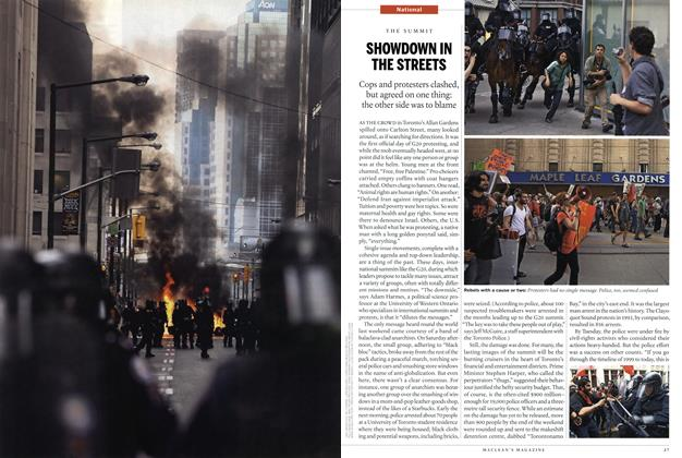 Article Preview: SHOWDOWN IN THE STREETS, July 19th 2010 | Maclean's