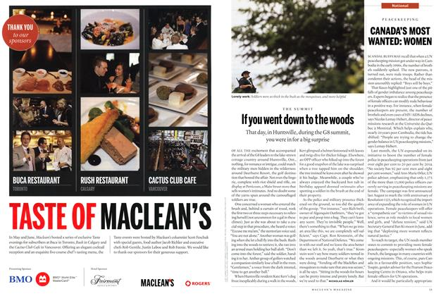 Article Preview: CANADA'S MOST WANTED: WOMEN, July 19th 2010 | Maclean's