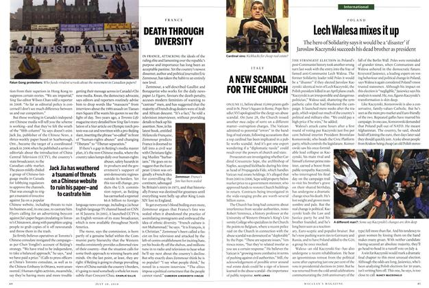 Article Preview: DEATH THROUGH DIVERSITY, July 19th 2010 | Maclean's