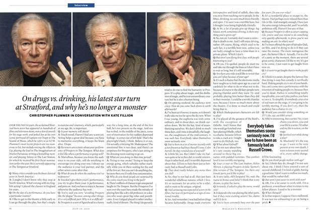 Article Preview: Interview, July 19th 2010 | Maclean's
