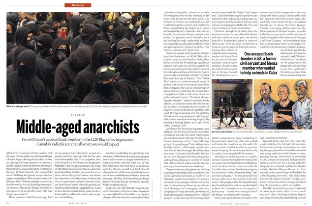 Article Preview: Middle-aged anarchists, July 2010 | Maclean's