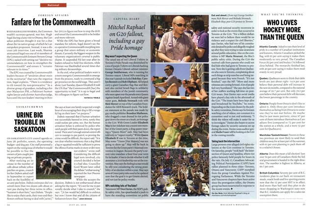 Article Preview: Fanfare for the Commonwealth, July 26th 2010 | Maclean's