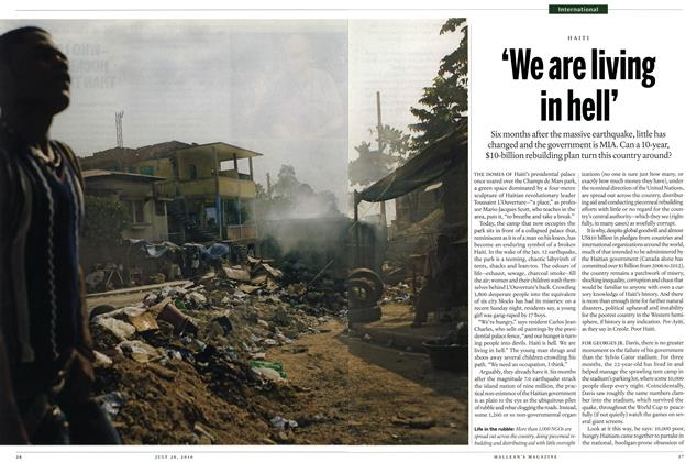 Article Preview: 'We are living in hell', July 26th 2010 | Maclean's