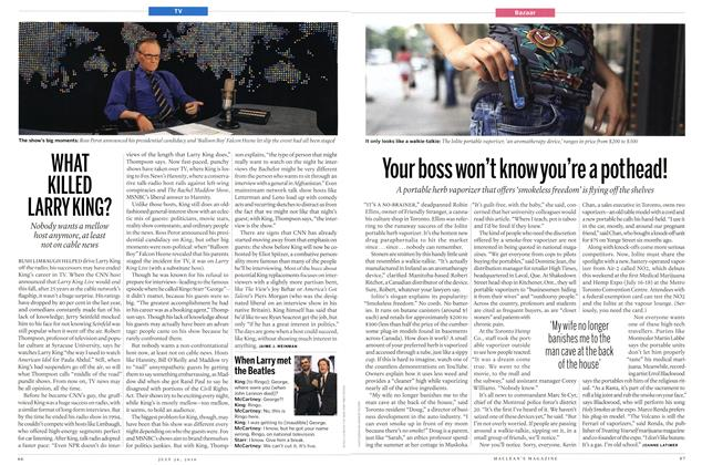 Article Preview: Your boss won't know you're a pot head!, July 26th 2010 | Maclean's