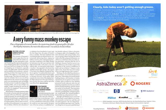 Article Preview: A very funny mass monkey escape, July 2010 | Maclean's