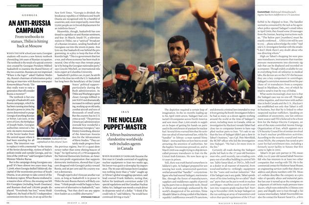 Article Preview: THE NUCLEAR PUPPET-MASTER, August 2nd 2010 | Maclean's