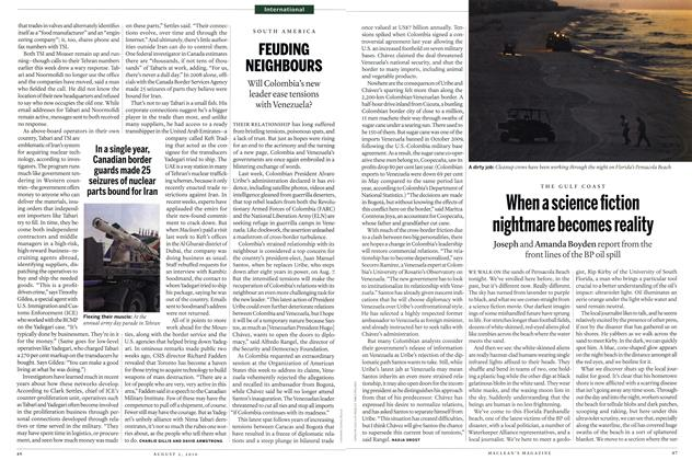 Article Preview: When a science fiction nightmare becomes reality, August 2nd 2010 | Maclean's