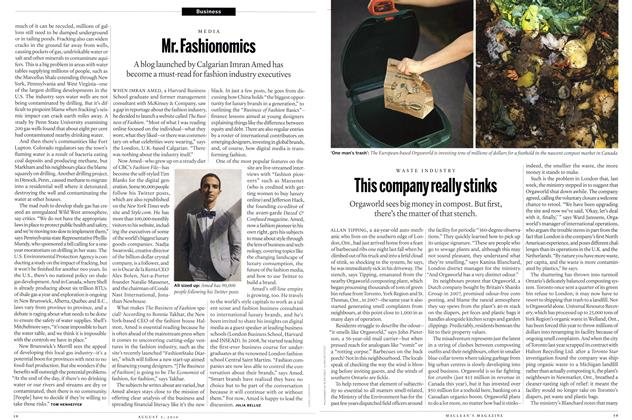 Article Preview: Mr. Fashionomics, August 2010 | Maclean's