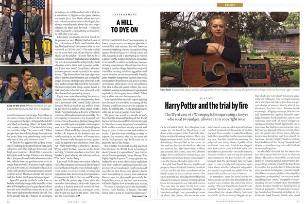Article Preview: Many Potter and the trial by fire, August 2nd 2010 | Maclean's